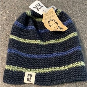 Krochet Kids Uganda International O/S Beanie NWT